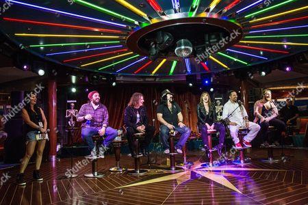 Lzzy Hale, Shaun Morgan, Vinnie Paul, David Ellefson, Zoltan Bathory and Danny Worsnop