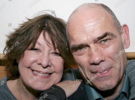 Roberta Taylor and husband Peter Guinness