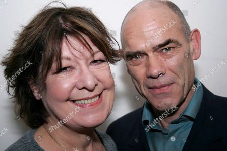 Roberta Taylor and husband Peter Guinness