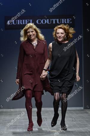 Gigliola Curiel and Raffaella Curiel