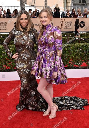 Editorial image of The 22nd Annual Screen Actors Guild Awards, Arrivals, Los Angeles, America - 30 Jan 2016