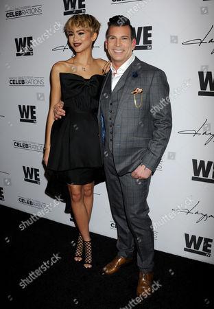 Zendaya and David Tutera