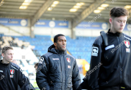 Bournemouths ex Portsmouth player Sylvain Distin arrives, before the FA Cup 4th Round between Portsmouth and Bournemouth, at Fratton Park on 30th January 2016.