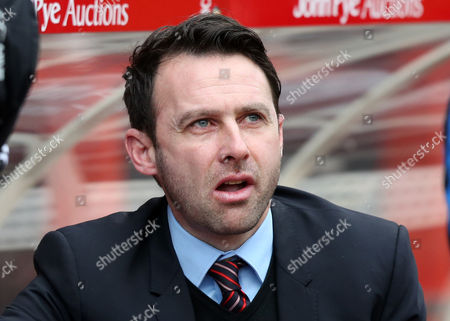 Nottingham Forest Manager, Dougie Freedman during the Emirates FA Cup 4th round match between Nottingham Forest and Watford played at City Ground, Nottingham on January 30th 2015