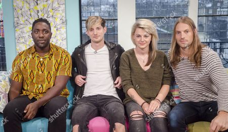 Bloc Party - Kele Okereke, Russell Lissack, Justin Harris and Louise Bartle