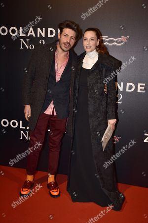 Simona Borioni with guest