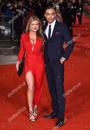Zara Holland and Scott Saunders