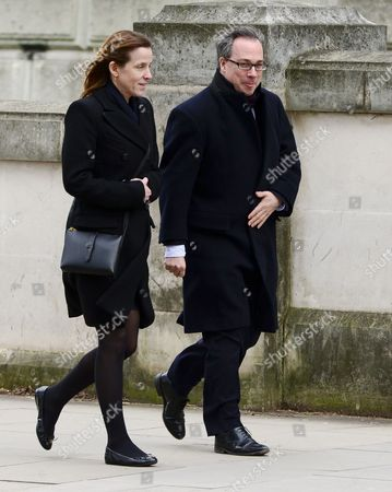 Cameron's cloest inner circle Edward Llewellyn, the Prime Minister's chief of staff going out to lunch with Kate Fall