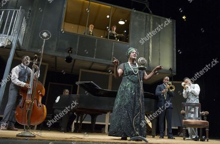 Giles Terera as Slow Drag, Finbar Lynch as Irvin, Stuart McQuarrie as Sturdyvant, Sharon D Clarke as Ma Rainey, Clint Dyer as Cutler, O-T Fagbenle as Levee