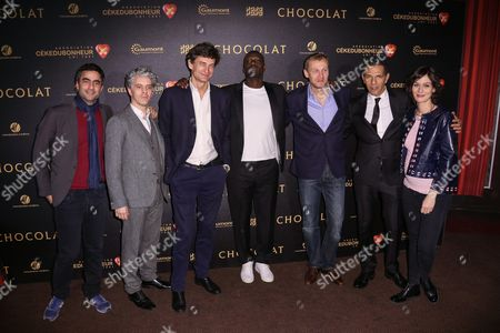 James Thierree, guest, Omar Sy, Olivier Rabourdin, Roschdy Zem, Clotilde Hesme