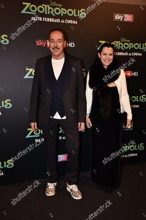 Massimo Lopez and Monica Ward