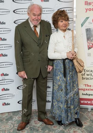 Timothy West (Bargees of the Year winner) and Prunella Scales