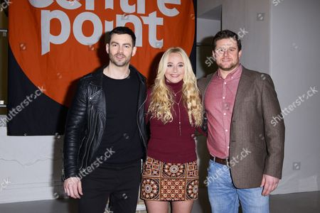 Cameron Moore, Kirsty Leigh Porter and Guest