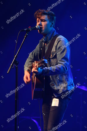 Editorial photo of Callum Beattie in concert at the O2 ABC, Glasgow, Scotland, Britain - 02 Feb 2016