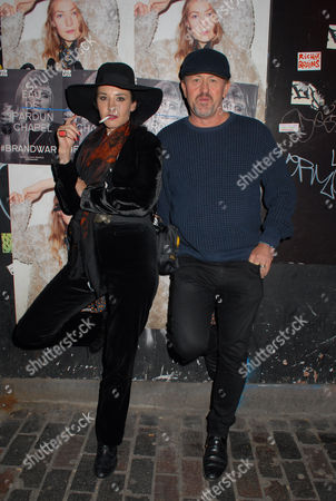 Stock Image of Danny Rampling and Ilona Gierach