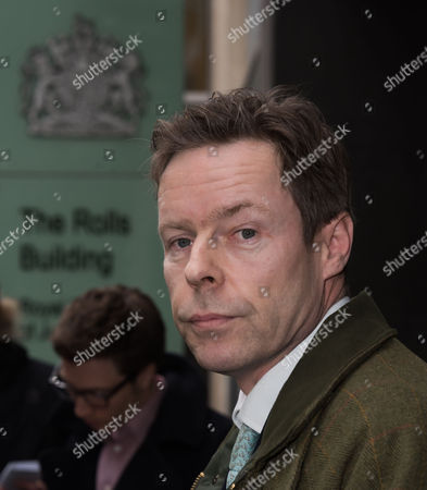 Editorial photo of George Bingham at Royal Courts of Justice, London, Britain - 03 Feb 2016
