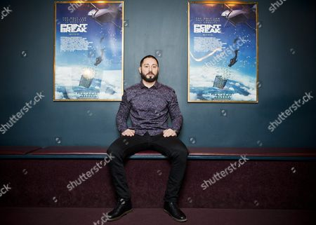 """Swedish actor Matias Varela who stars in the re-make of Hollywood block buster """"Point Break"""""""