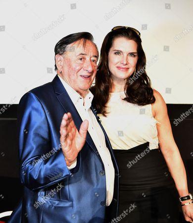Richard Siegfried Lugner and Brooke Shields