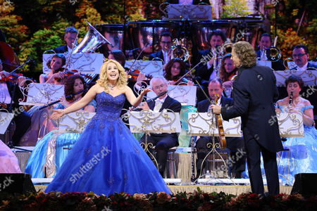 Stock Picture of Iva Schell and Andre Rieu