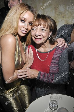 Jillian Hervey and and her grandmother Helen Williams