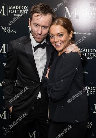 Tyler Shields and Lindsay Lohan