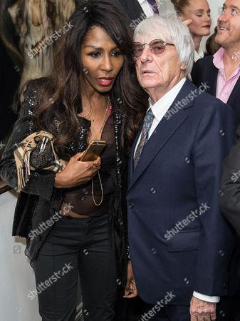 Sinitta and Bernie Ecclestone