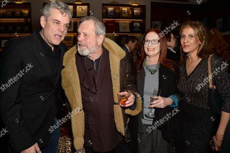 Danny Huston, Terry Gilliam, Maggie Weston and Azzi Glasser