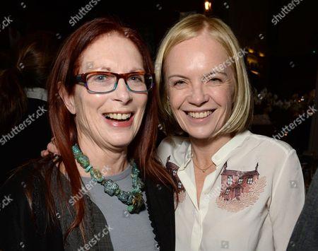 Maggie Weston and Mariella Frostrup