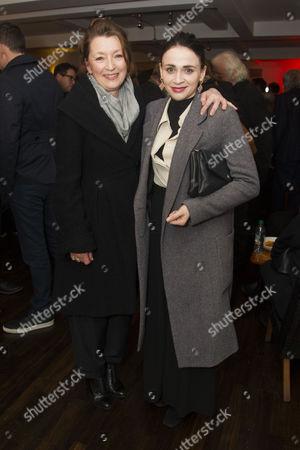 Lesley Manville and Charlene McKenna