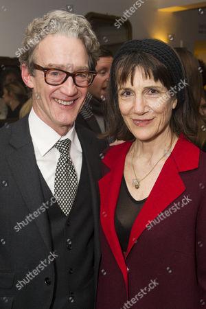 Guy Paul and Harriet Walter