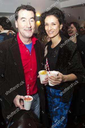 Tim McMullan and Indira Varma