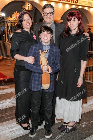 Riley Osborne, Mark Osborne and guests