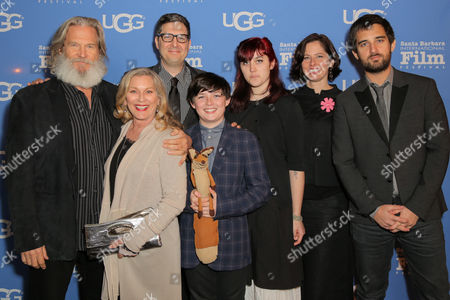 Jeff Bridges, Susan Geston, Mark Osborne, Riley Osborne, Dimitri Rassam