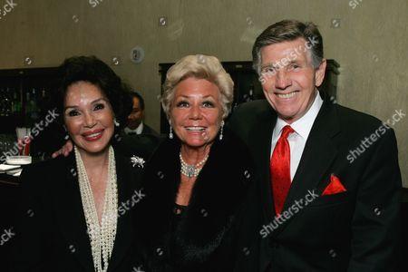 Mary Ann Mobley, Mitzi Gaynor & Gary Collins