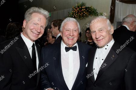 John Mauceri, Merv Griffin and Buzz Aldrin