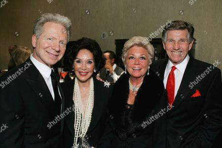 John Mauceri, Mary Ann Mobley, Mitzi Gaynor & Gary Collins