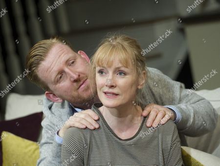 Stock Image of Tom Goodman-Hill as Howie, Claire Skinner as Becca