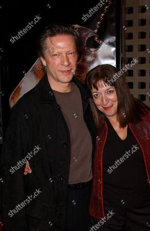 Chris Cooper and Wife Marianne Leone