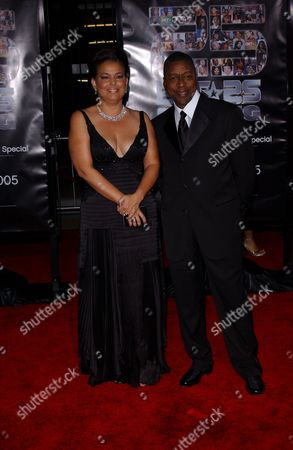 Debra Lee, President and CEO of BET, and Robert L. Johnson, BET