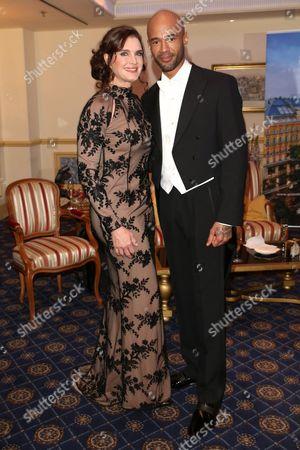 Brooke Shields and Mr Probz