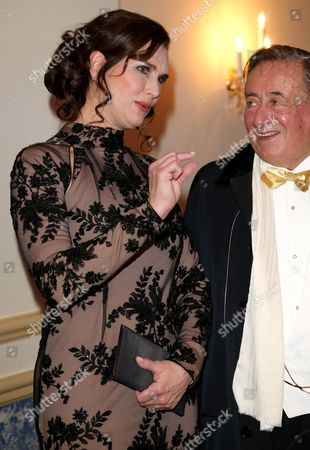 Brooke Shields and Richard Siegfried Lugner