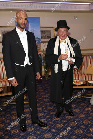 Mr Probz and Richard Siegfried Lugner