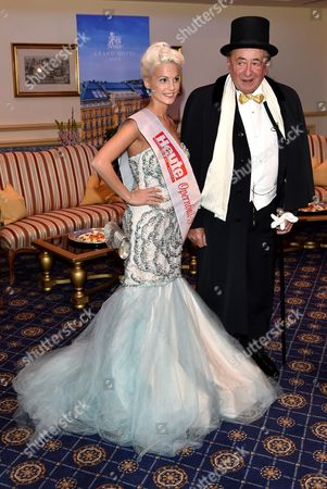 Richard Siegfried Lugner and Miss Heute