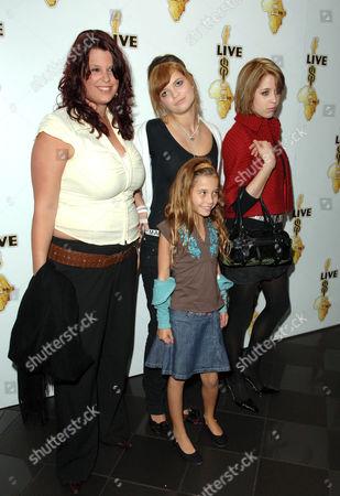 Fifi Trixibelle Geldof, Tiger Lily, Pixie Geldof and Peaches Geldof