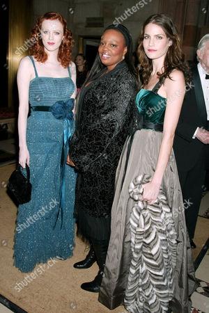 Karen Elson, Pat McGrath and Missy Rayder