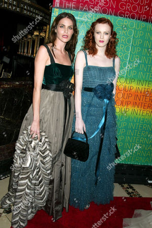 Stock Picture of Missy Rayder and Karen Elson