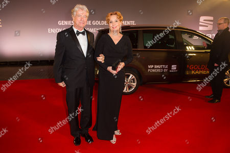 Stock Picture of Jurgen Prochnow with guest