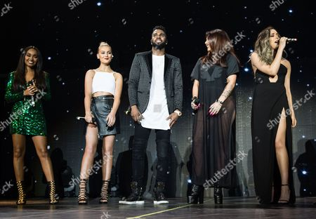 Jason Derulo with special guests Little Mix. Jason Derulo, Perrie Edwards, Jesy Nelson, Leigh-Ann Pinnock, Jade Thirlwall