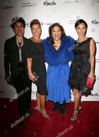 Stock Picture of Phylicia Rashad, Adrienne Banfield Jones, Debbie Allen, Jada Pinkett Smith