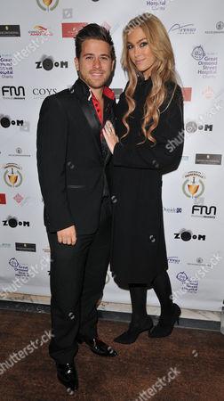 Stock Picture of Jonny Dodge and Cassandra Harris